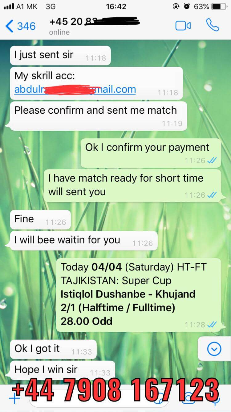 HT FT FIXED MATCH WON 04 04