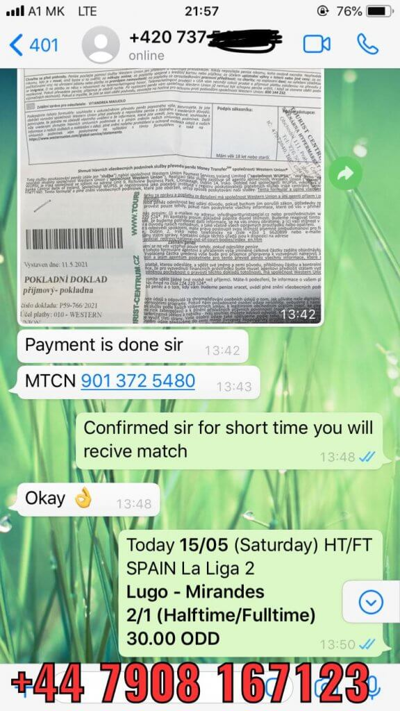 HT FT FIXED MATCHES WON SOLO PREDICTION 15 05