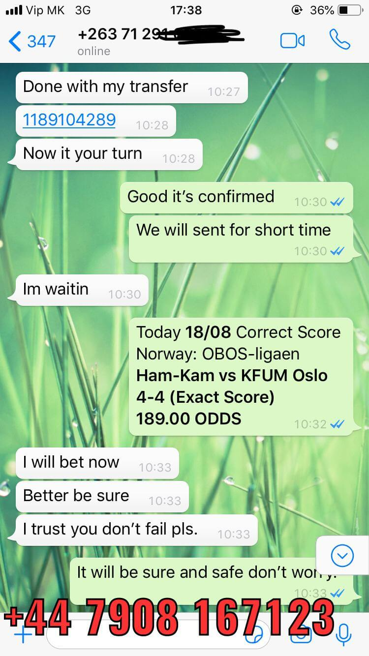 exact score tips won 1808 189 odds