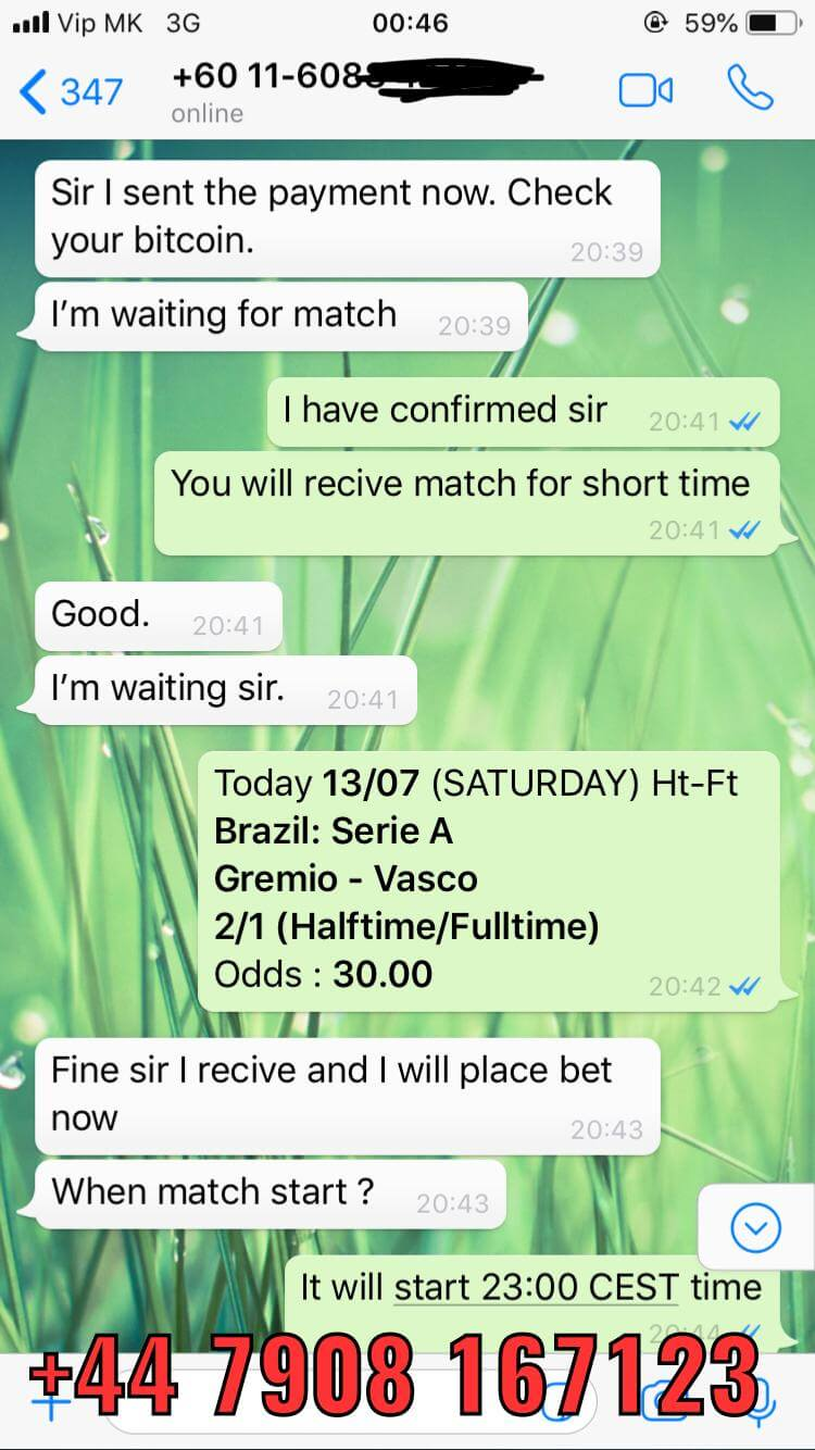 halftime fulltime fixed matches won