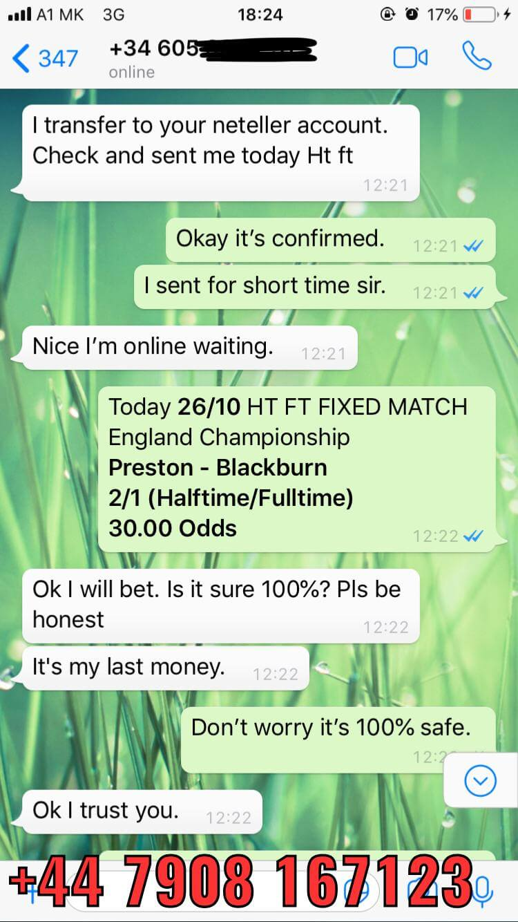 ht ft fixed matches 26 10 won