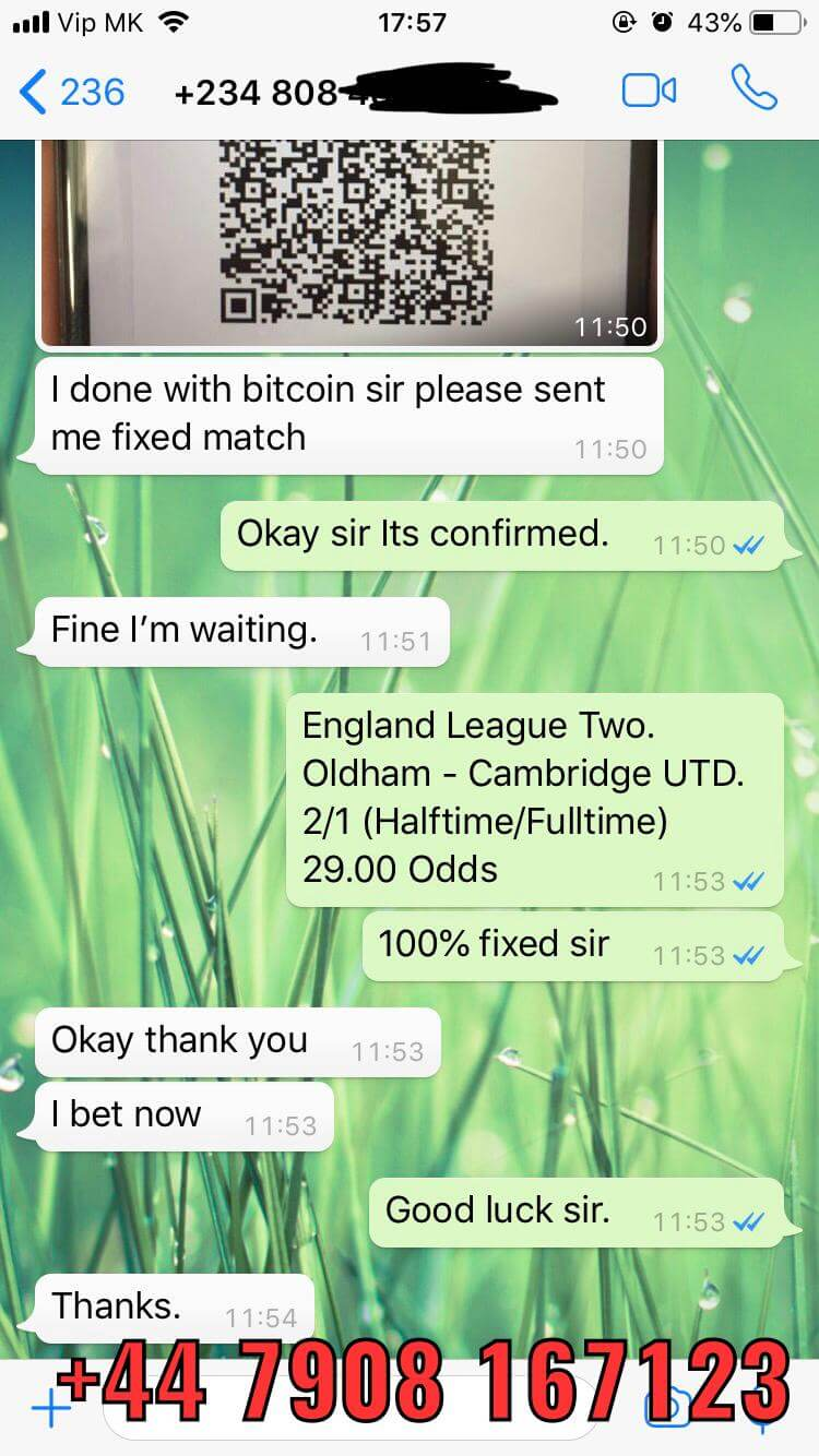 real proofs of ht ft fixed matches won 17 11