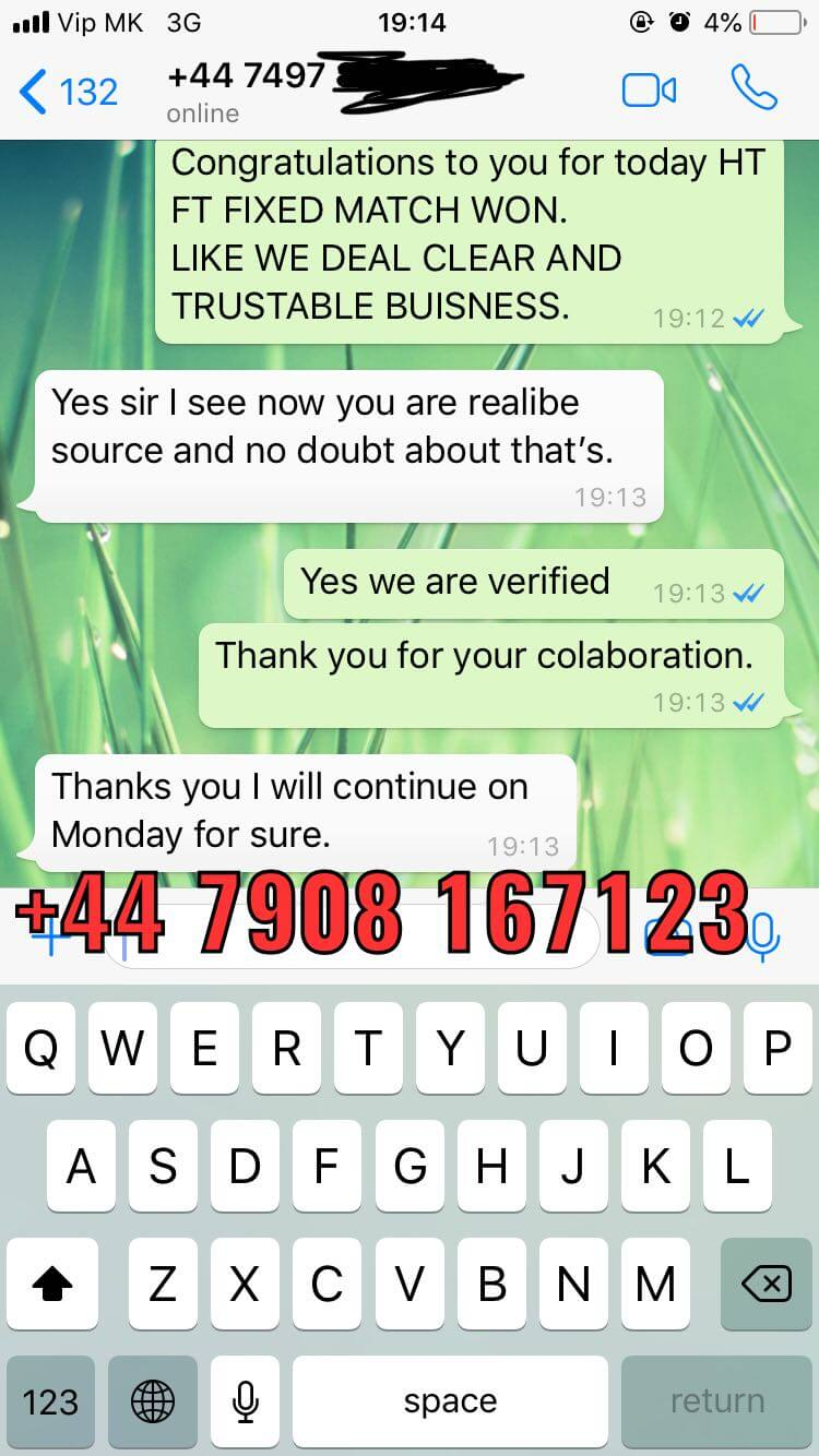 verified seller fixed matches ht ft