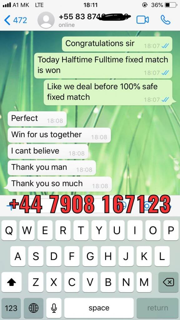 whatsapp solopredict fixed matches ht ft proof