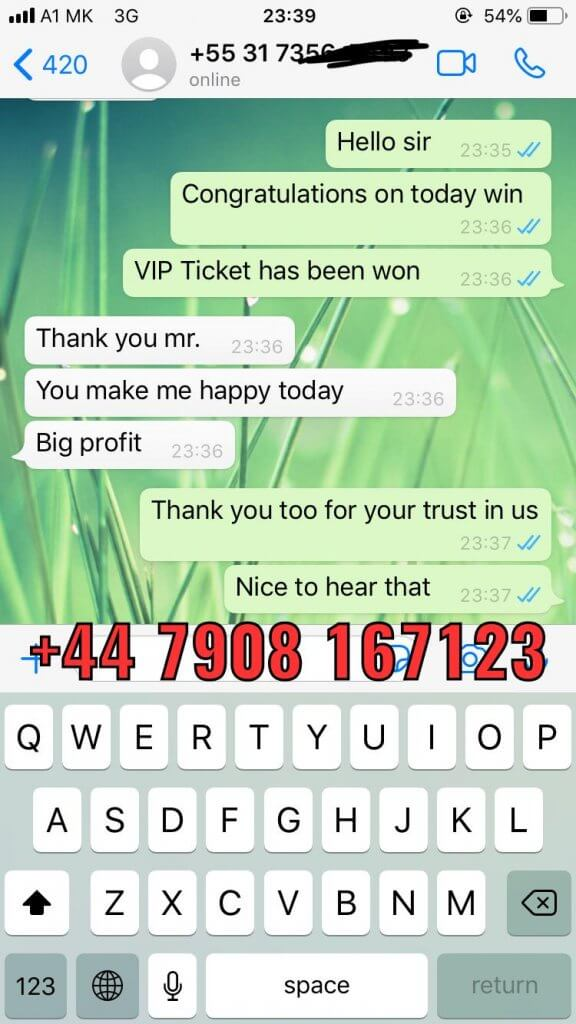 buy fixed matches 100% sure win