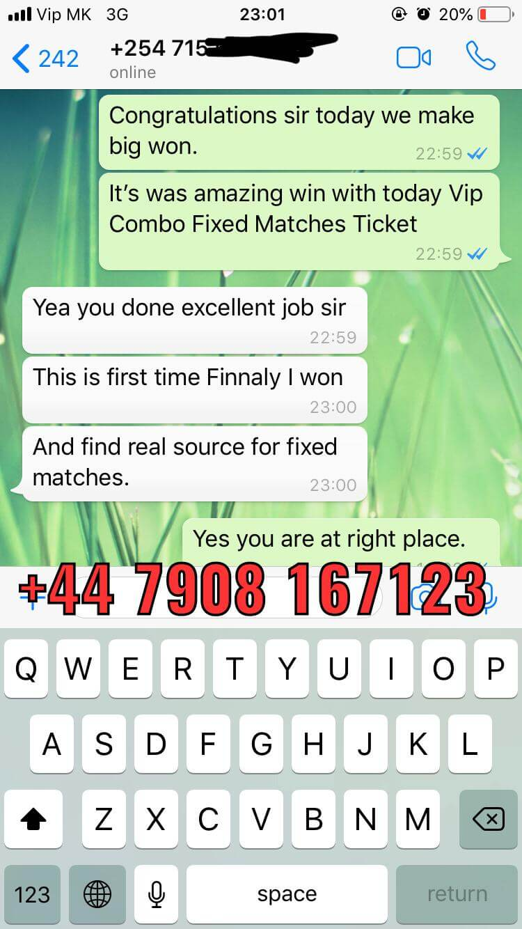 combo fixed matches win 01 12