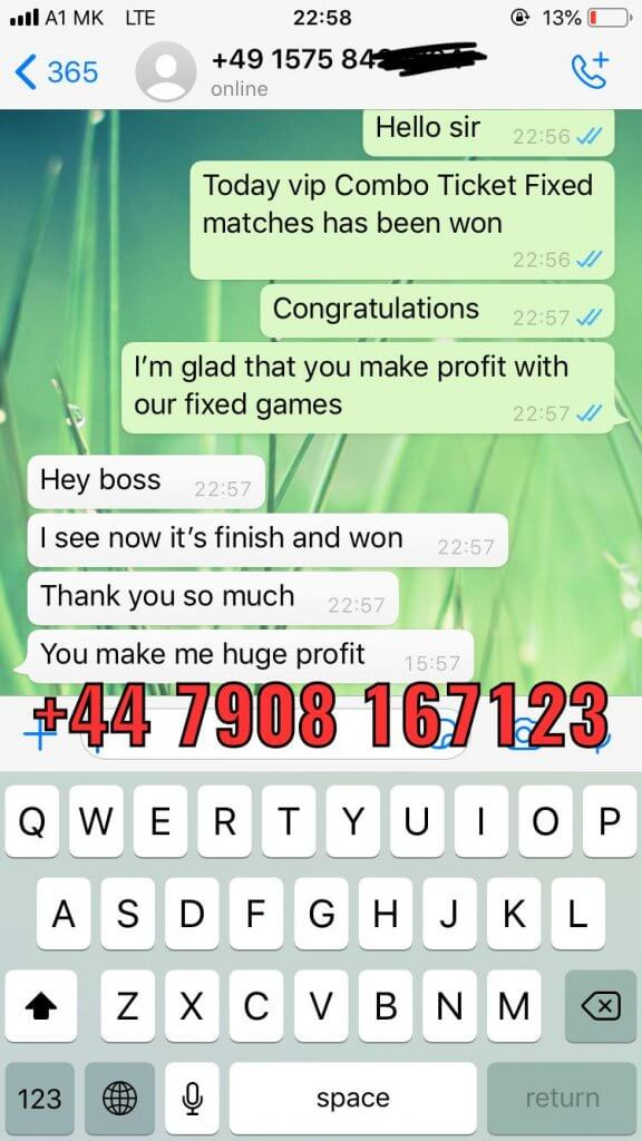 sure fixed matches proof won 20 02