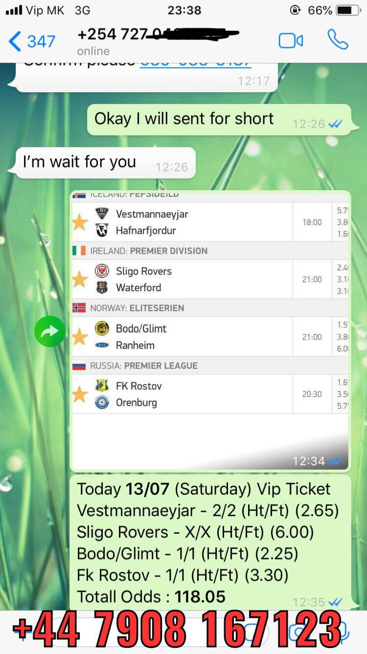 sure fixed matches vip ticket 13 07