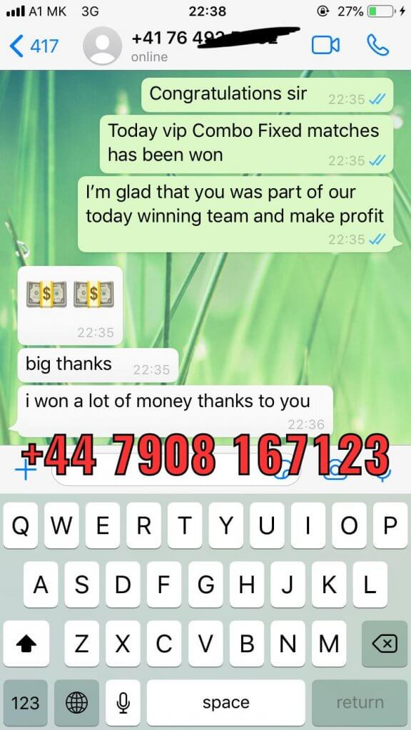 vip betting tips fixed matches proof